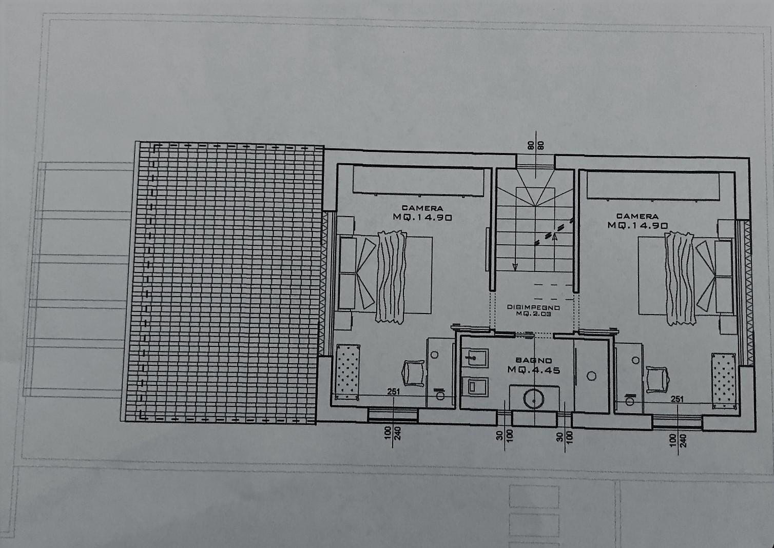 Planimetria 2/2 per rif. NC185
