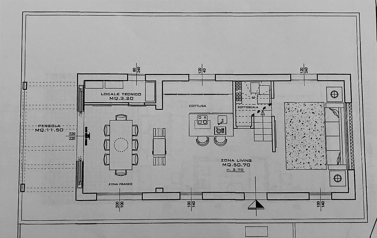 Planimetria 1/2 per rif. NC185
