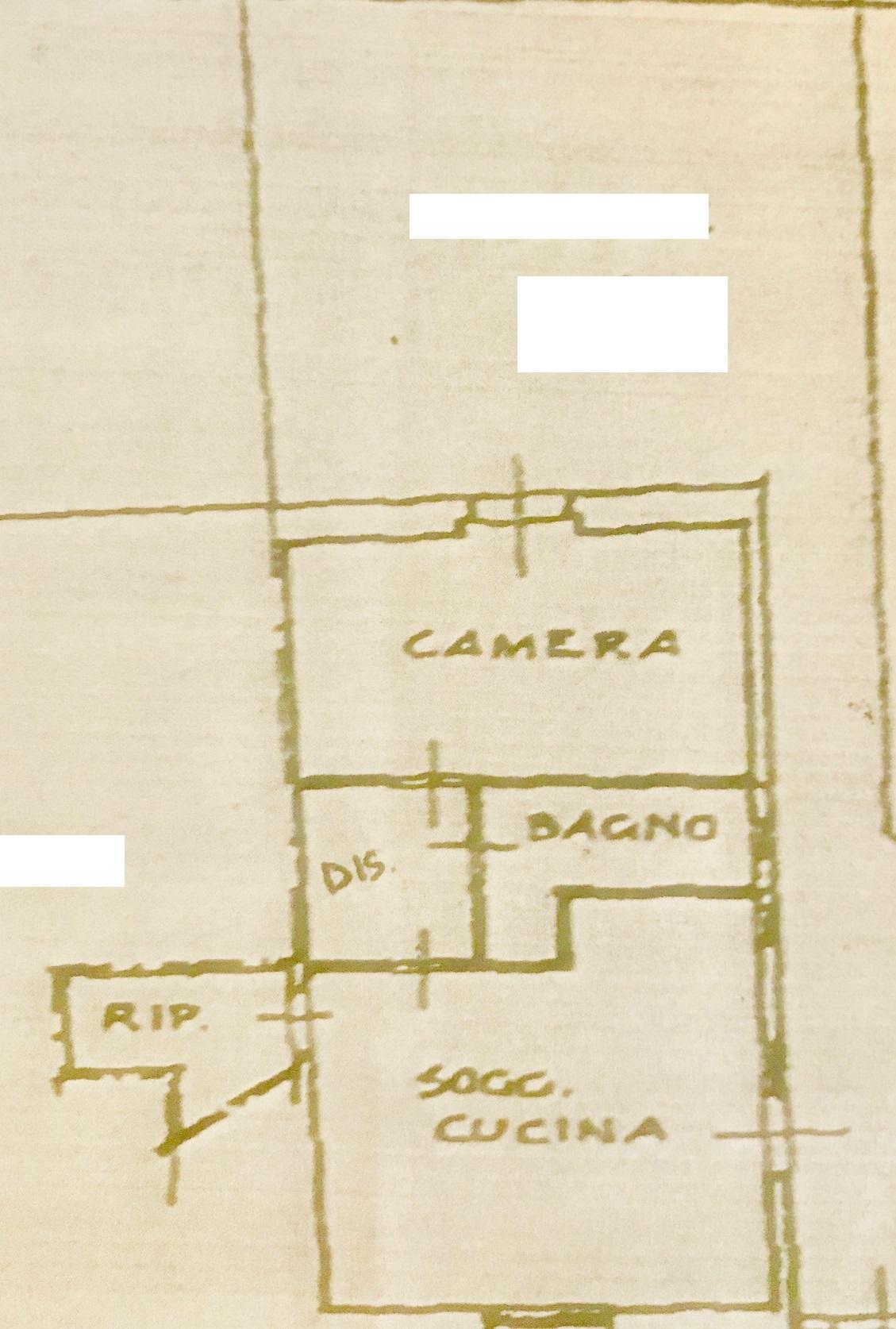 Planimetria 1/1 per rif. 2V180