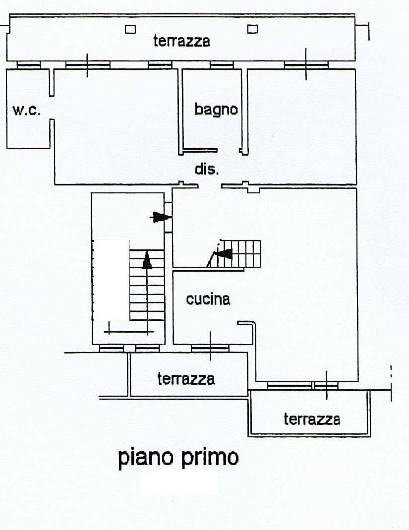Planimetria 1/2 per rif. 5V218