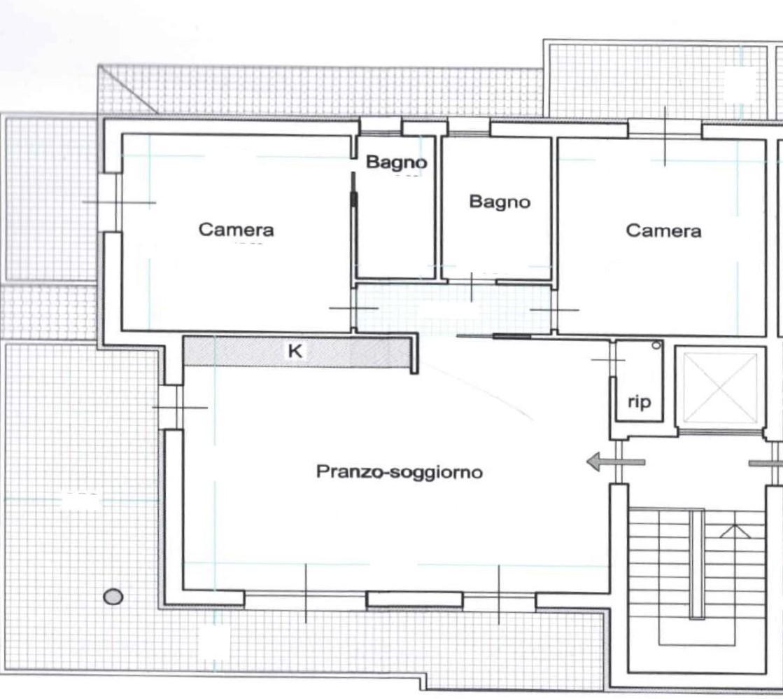 Planimetria 1/1 per rif. NC192