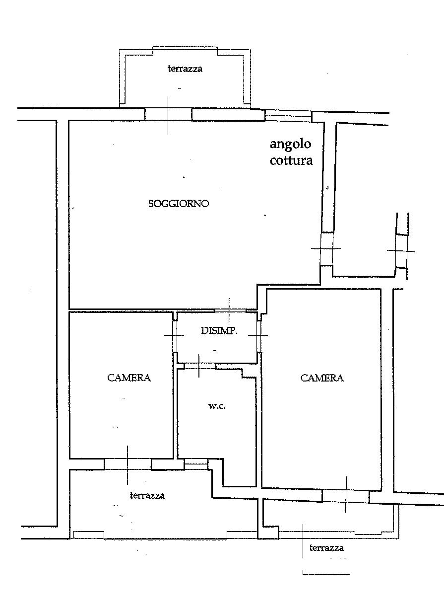 Planimetria 1/1 per rif. 3V395