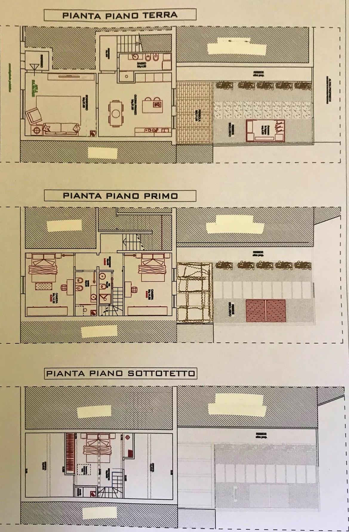 Terratetto in vendita, rif. T187 (Planimetria 1/1)