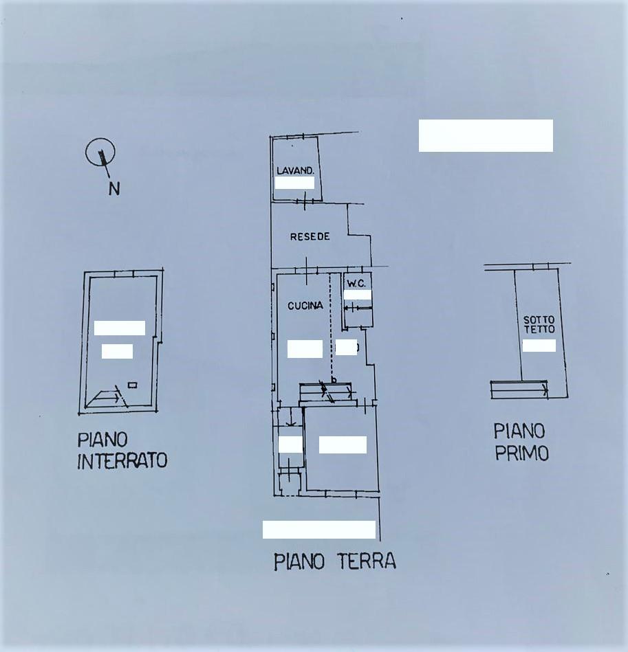 Planimetria 1/1 per rif. T209