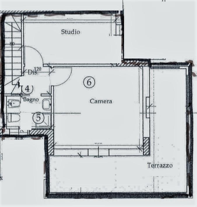 Planimetria 2/3 per rif. T210