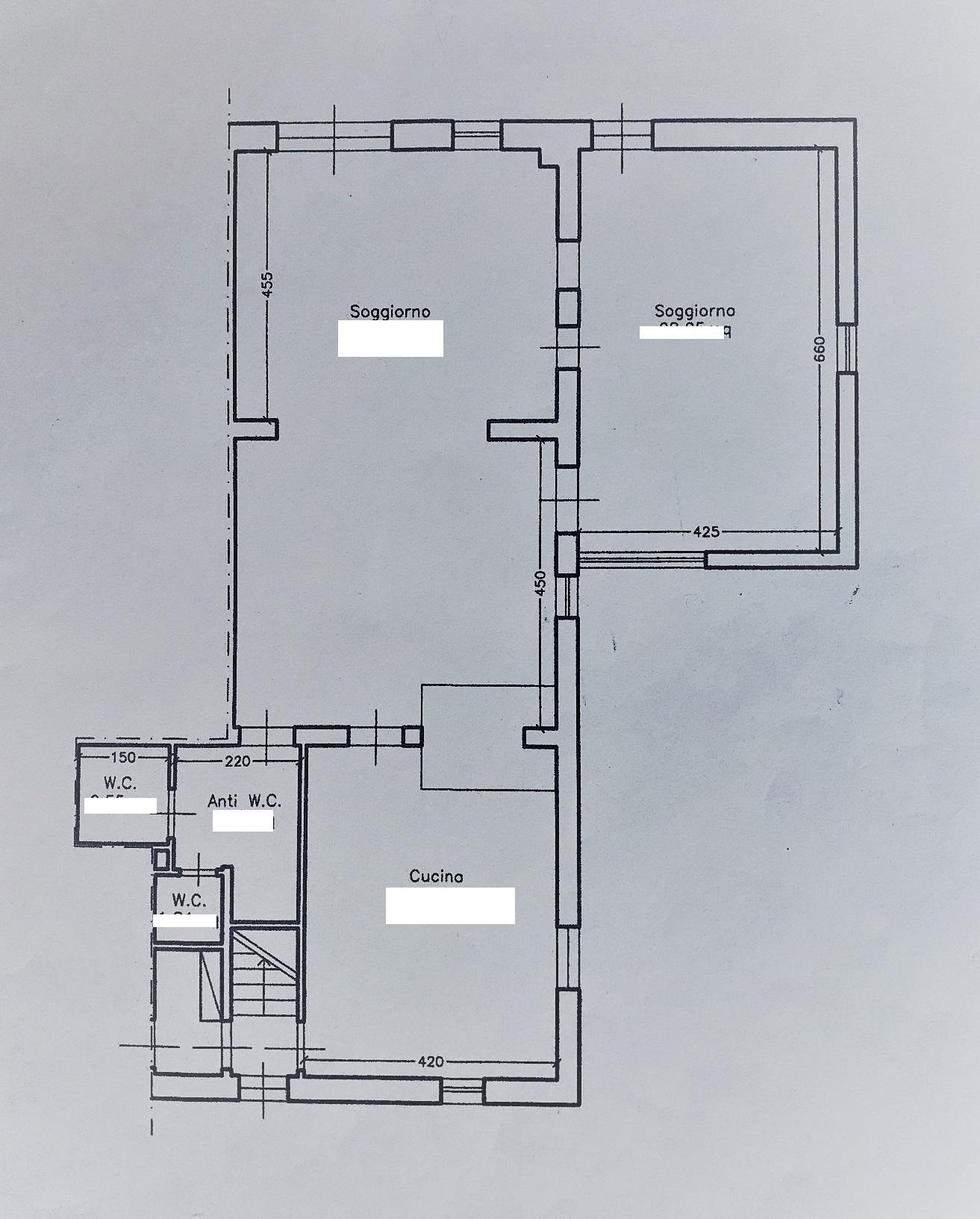 Planimetria 1/3 per rif. PC135