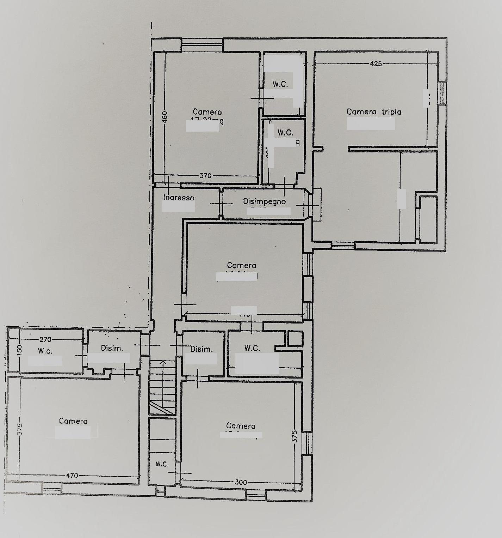 Planimetria 2/3 per rif. PC135