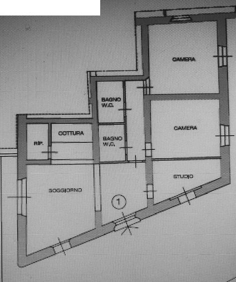 Planimetria 1/1 per rif. 5V191