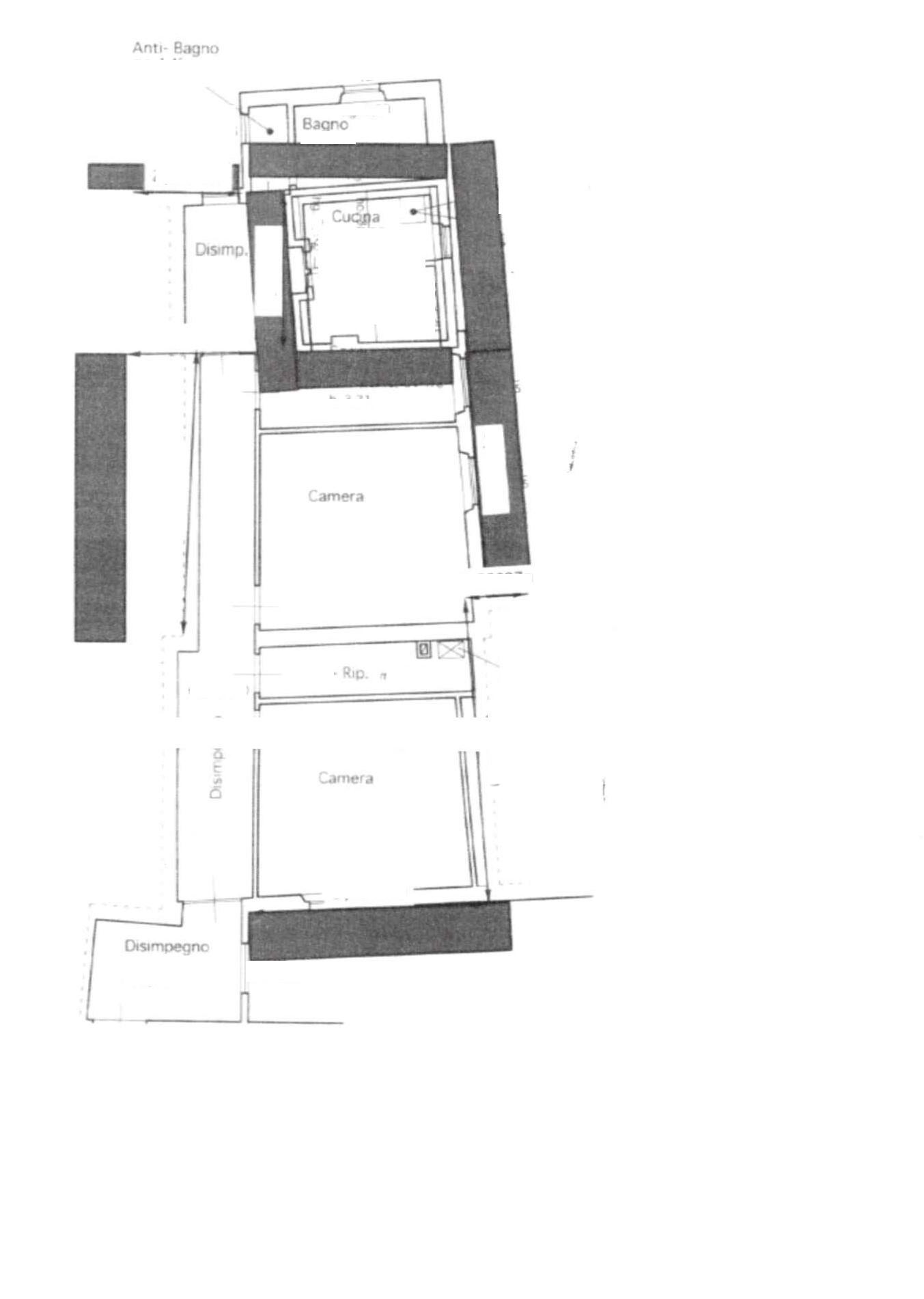 Planimetria 1/1 per rif. 3V375