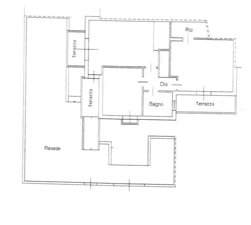 Planimetria 2/2 per rif. 4V532