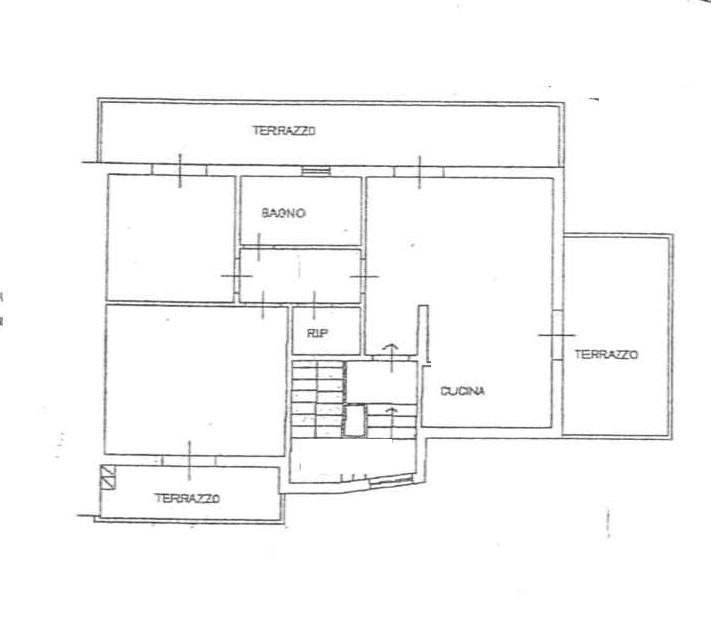 Planimetria 1/1 per rif. 4V537