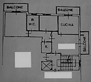 Planimetria 1/1 per rif. 4V536B