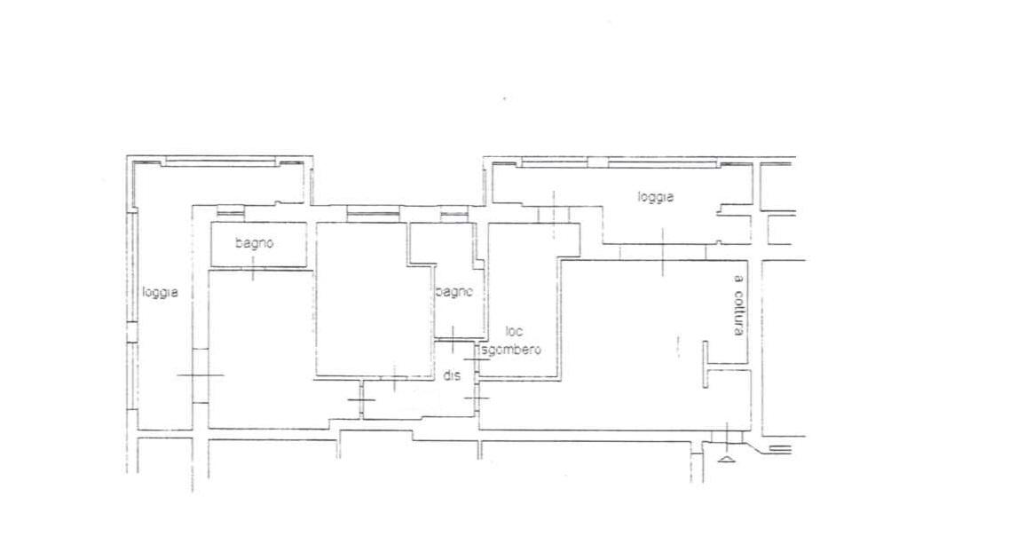 Planimetria 1/1 per rif. 5V222