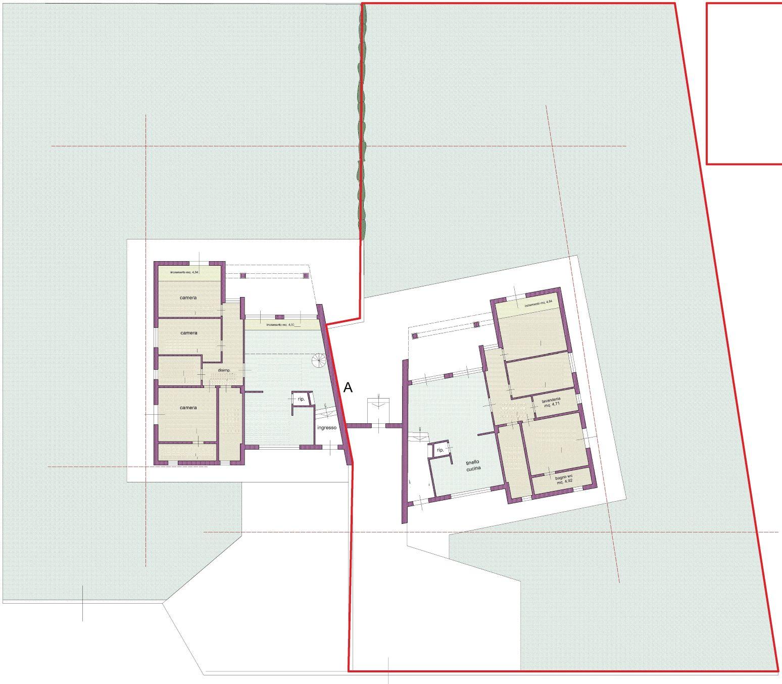Planimetria 1/1 per rif. NC199