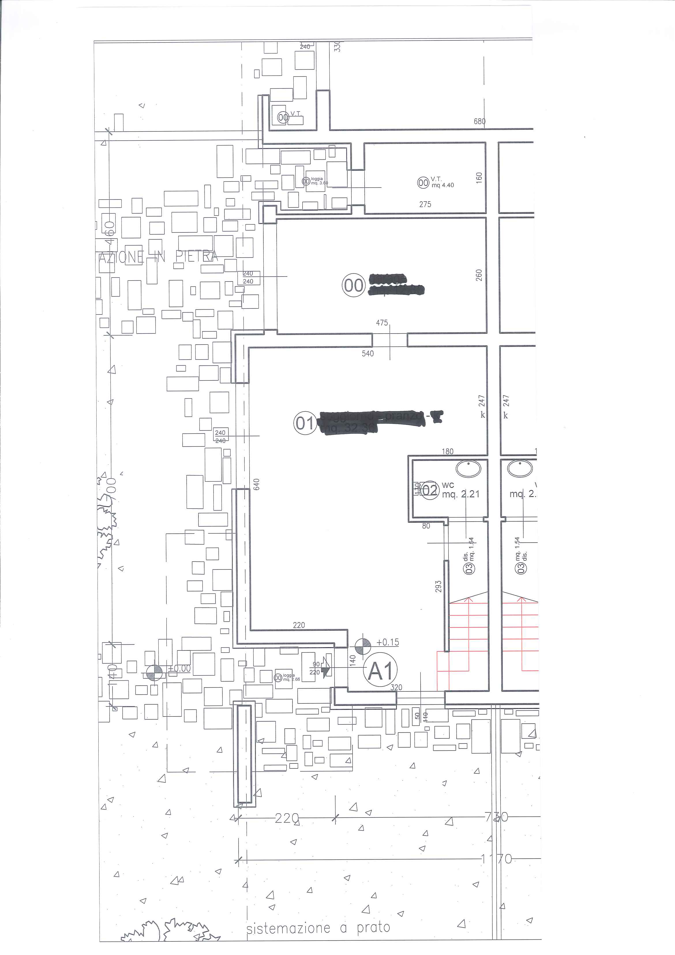 Planimetria 1/2 per rif. 4194