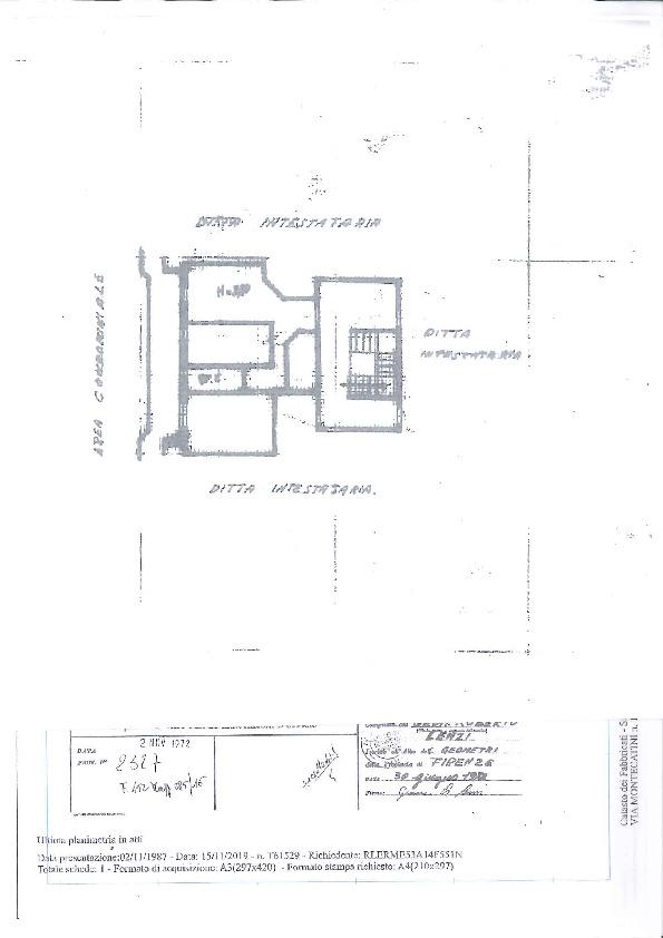 Planimetria 1/1 per rif. 18159