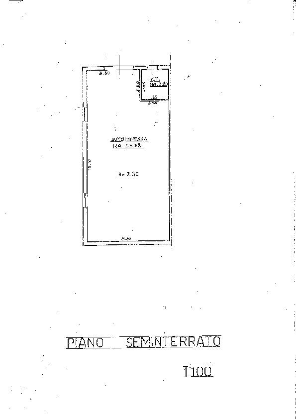 Planimetria 2/2 per rif. 6745