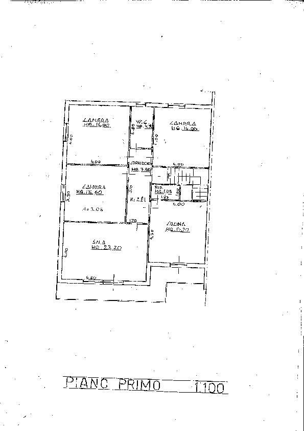 Planimetria 1/2 per rif. 6745