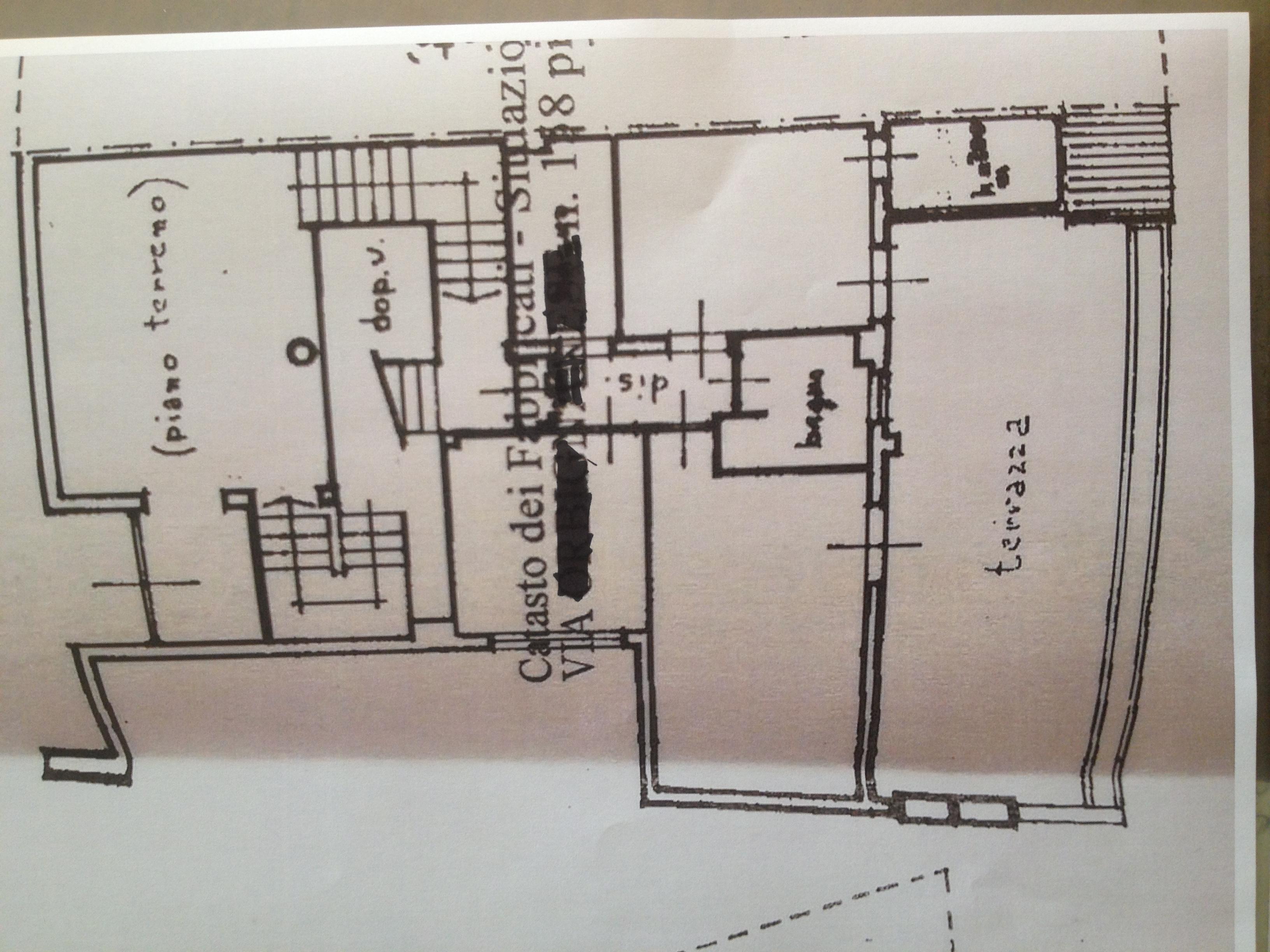 Planimetria 1/3 per rif. 4723