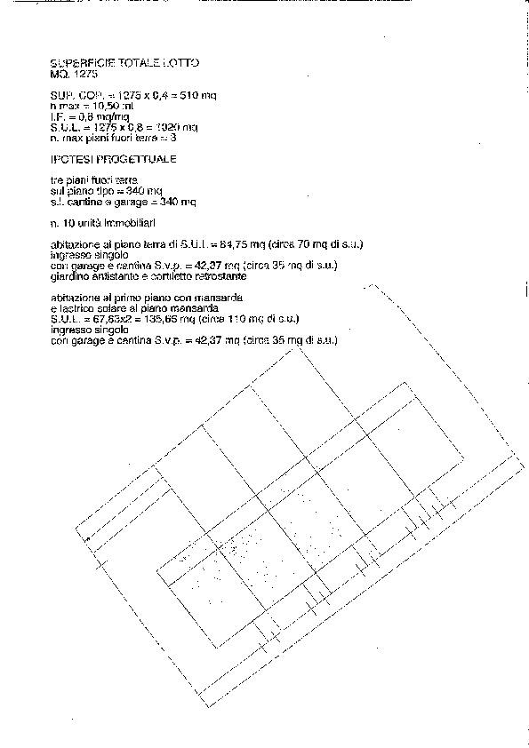 Planimetria 1/1 per rif. 3927