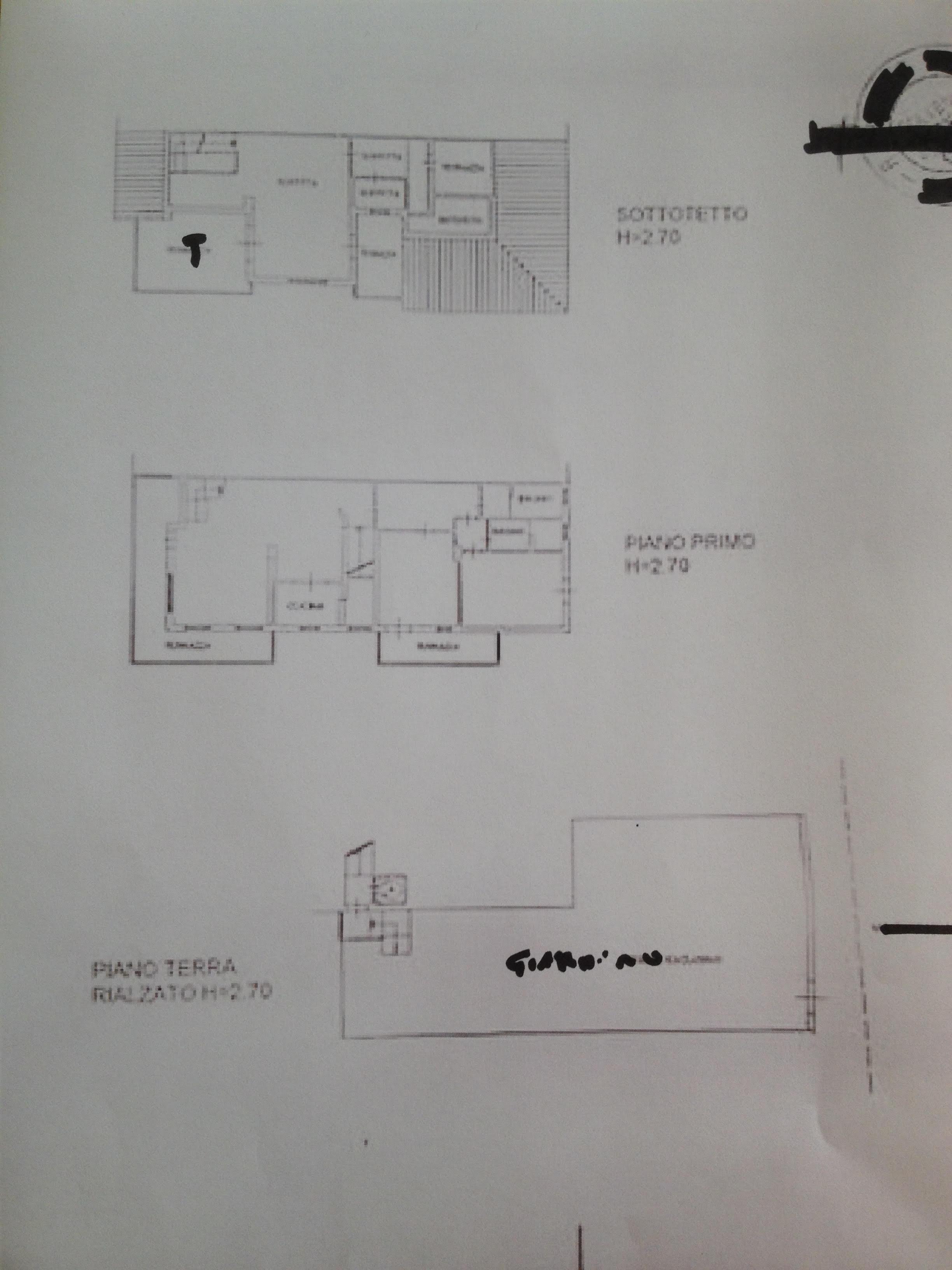 Planimetria 1/1 per rif. 5907