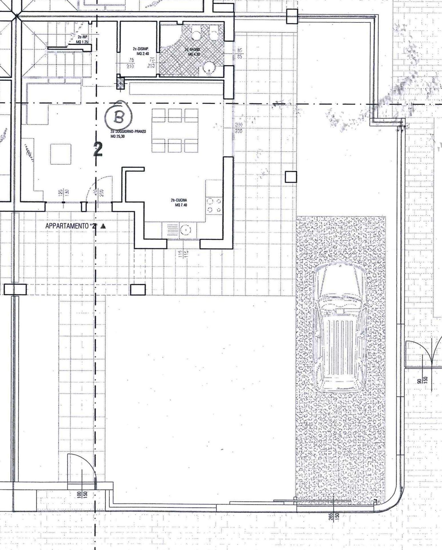 Planimetria 1/3 per rif. AR295