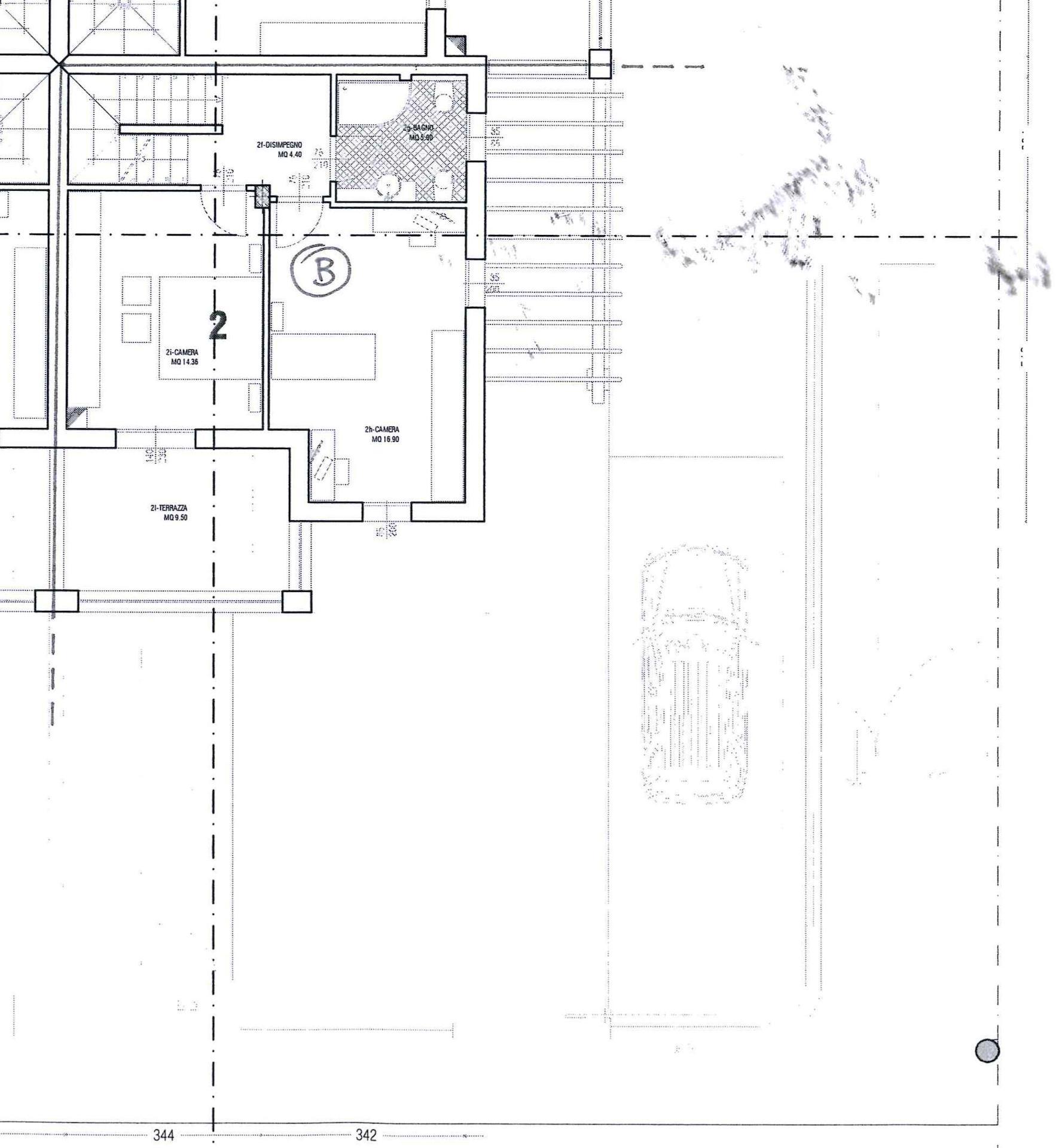 Planimetria 2/3 per rif. AR295