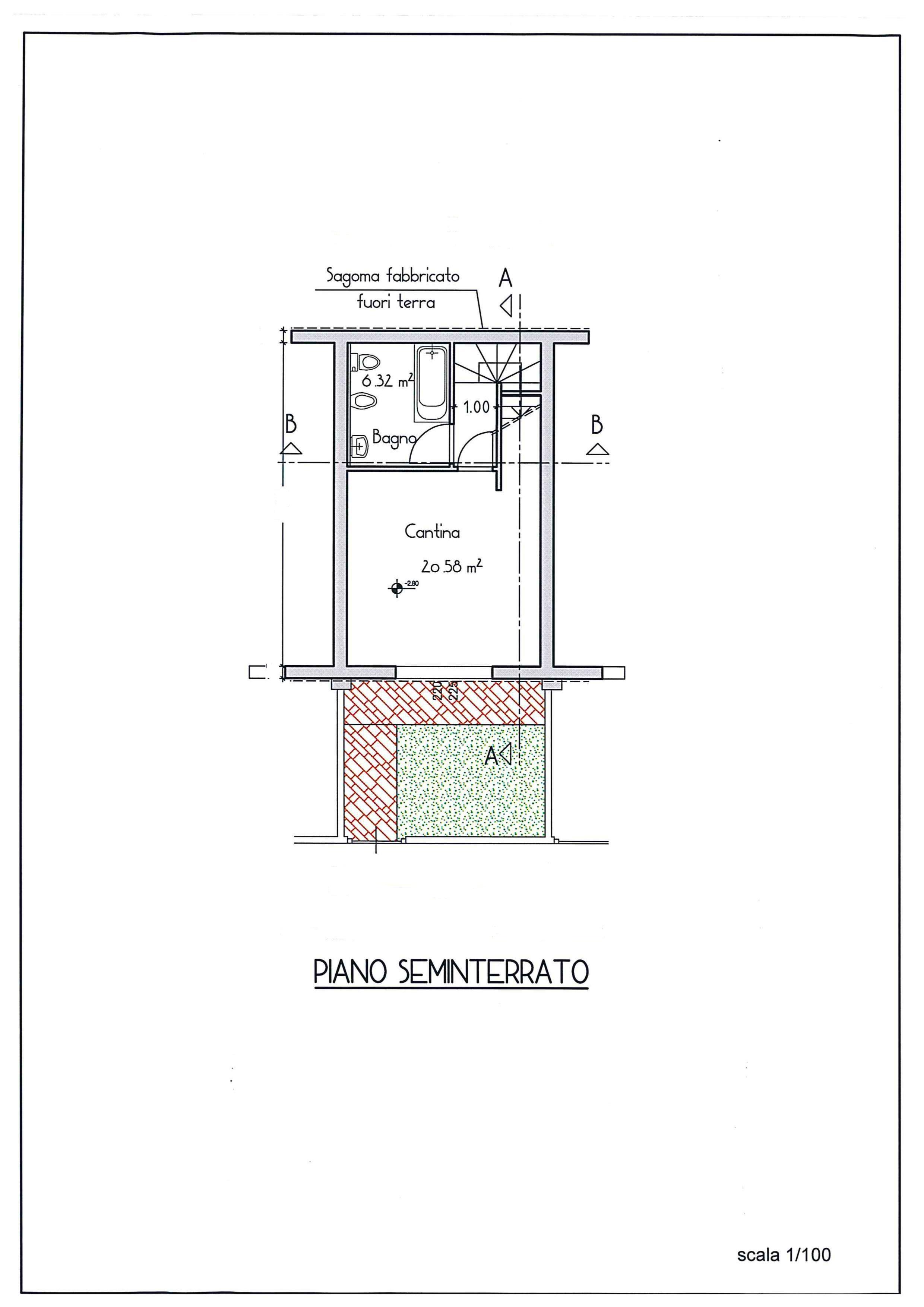 Planimetria 3/3 per rif. AR327