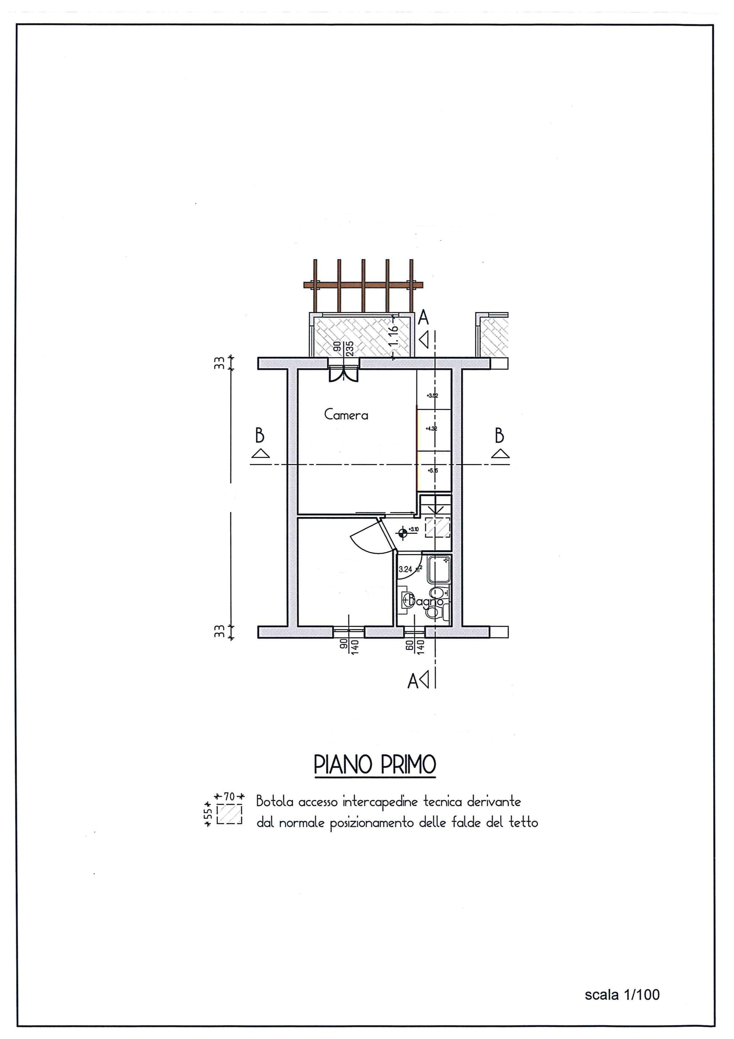 Planimetria 2/3 per rif. AR327