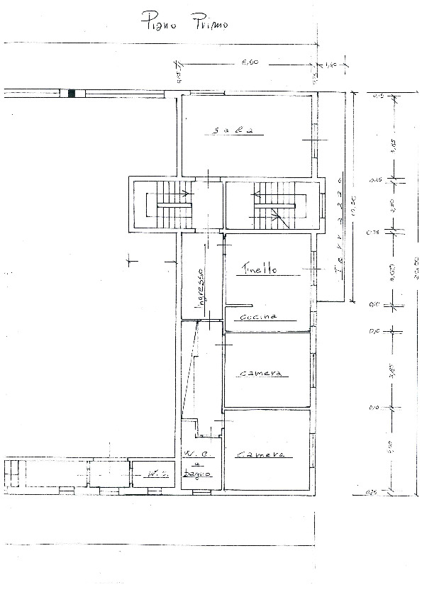 Planimetria 2/4 per rif. AR348