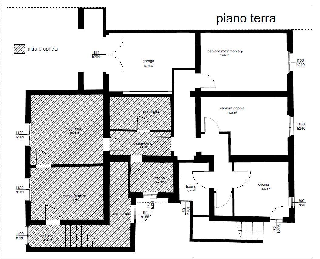 Planimetria 2/2 per rif. AR365