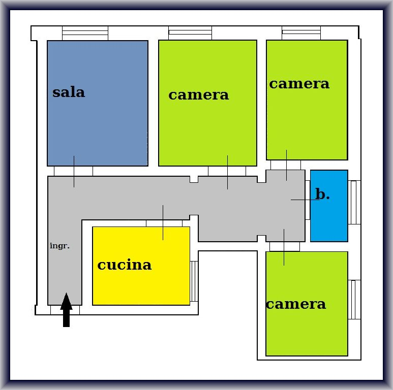 Planimetria 1/1 per rif. 795