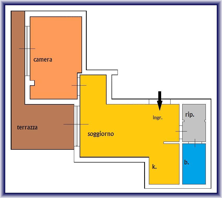 Planimetria 1/1 per rif. 825A