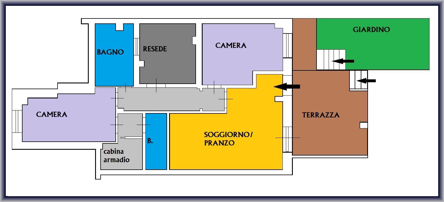 Planimetria 1/1 per rif. 842