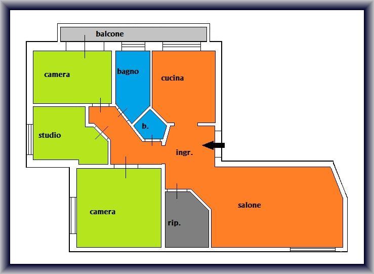 Planimetria 1/1 per rif. 844