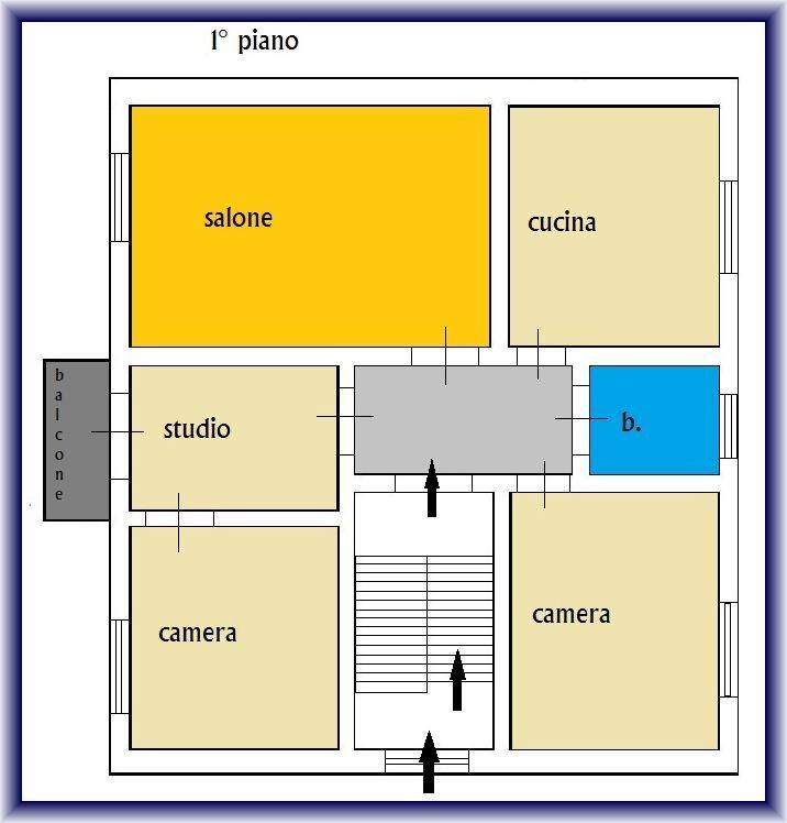 Planimetria 2/2 per rif. 855