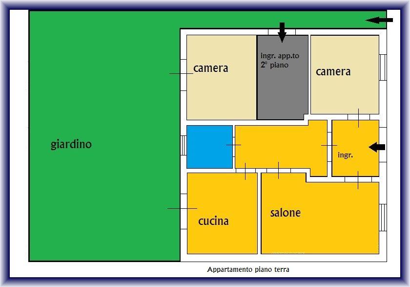 Planimetria 1/2 per rif. 855