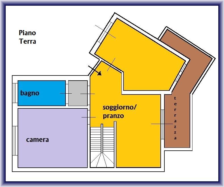 Planimetria 1/3 per rif. 871