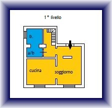 Planimetria 1/2 per rif. 877