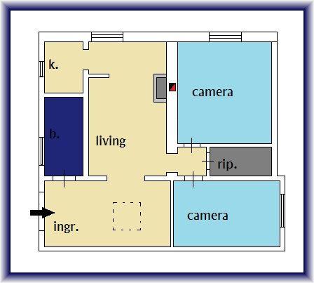 Planimetria 1/1 per rif. 878