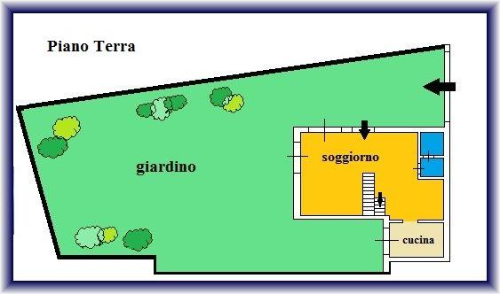 Planimetria 1/2 per rif. 881