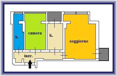 Planimetria 1/1 per rif. 884