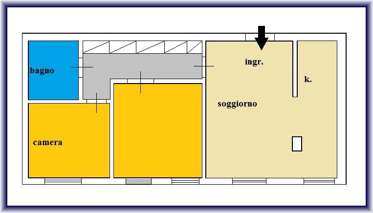 Planimetria 1/1 per rif. 886