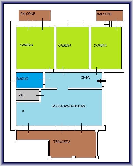 Planimetria 1/1 per rif. 897