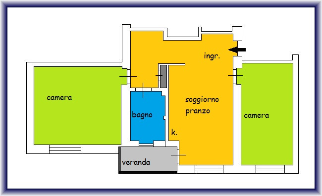 Planimetria 1/1 per rif. 905