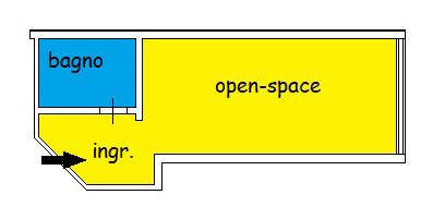 Planimetria 1/1 per rif. U010