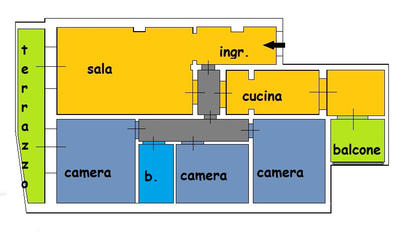 Planimetria 1/1 per rif. 920
