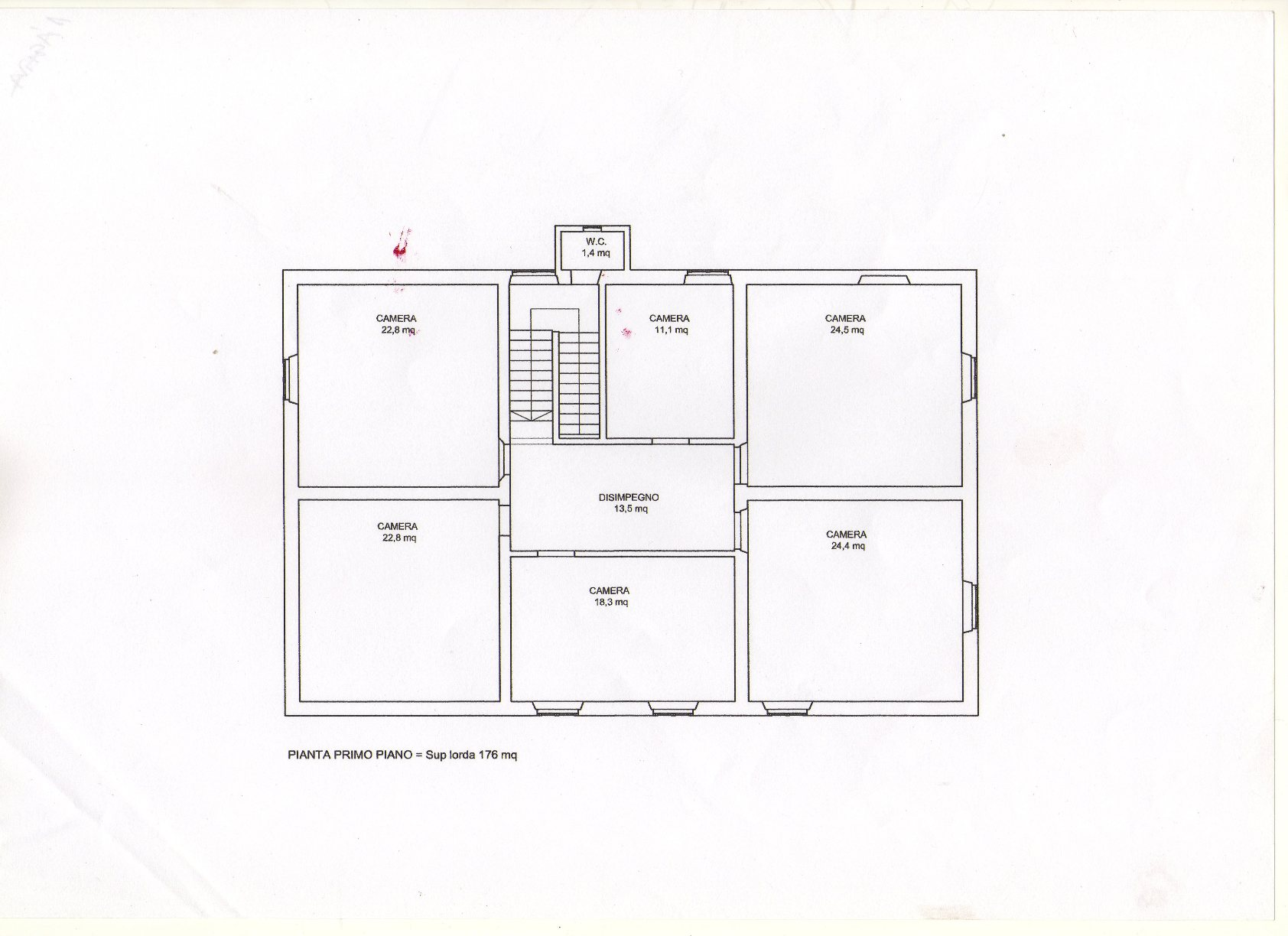 Planimetria 2/2 per rif. R800