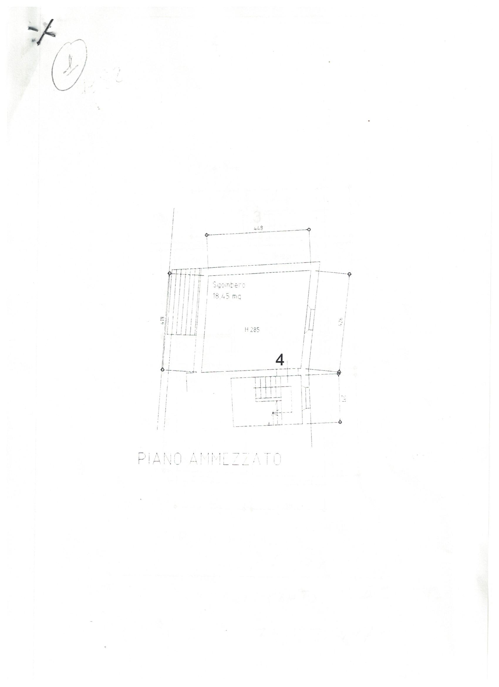 Planimetria 2/5 per rif. 23