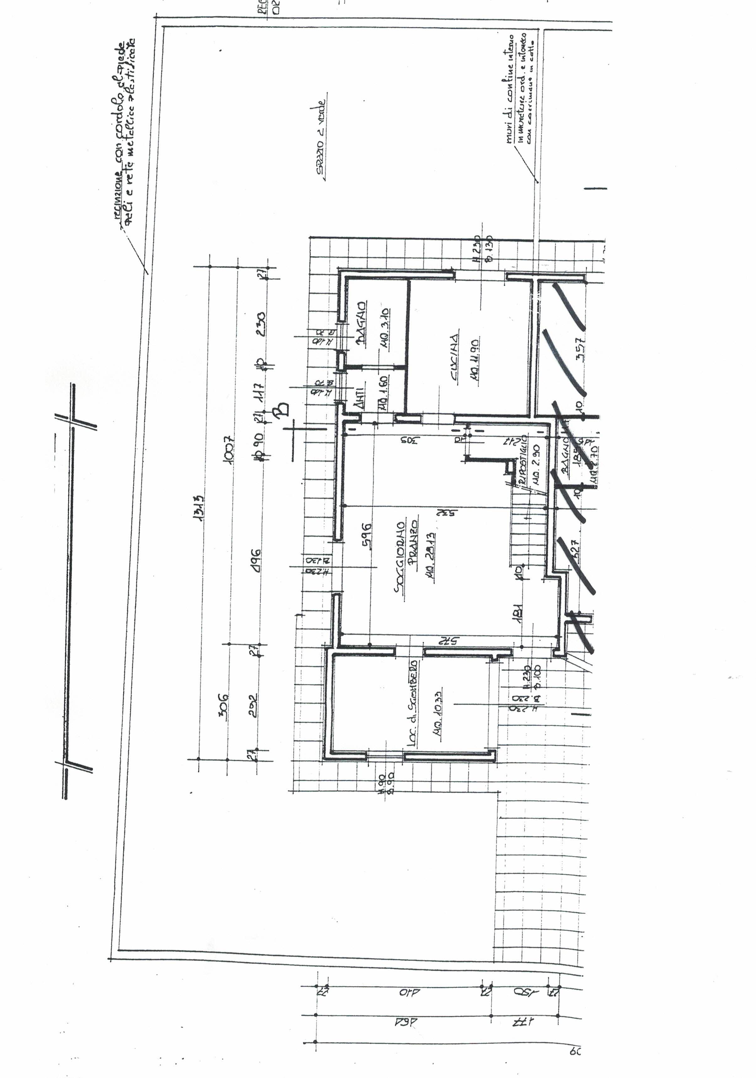 Planimetria 2/2 per rif. 52